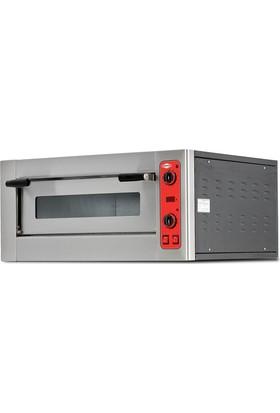 Empero 4'lü Tek Katlı Pizza Fırını Elektrikli