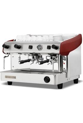Empero Capuccino ve Espresso Makinesi 2 Gruplu ( Yarı Otomatik )