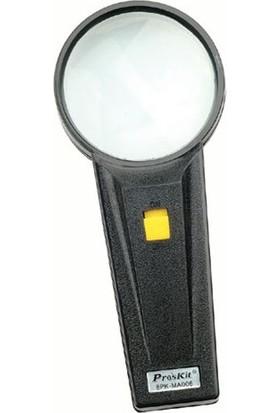 Proskit 8PK-MA006 Işıklı Büyüteç