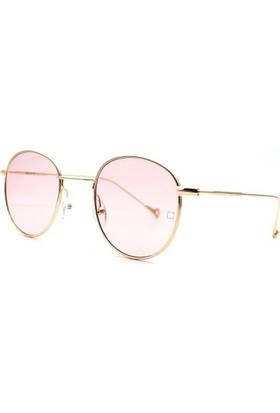 Zolo Eyewear Round Metal Red 47.22 Güneş Gözlüğü