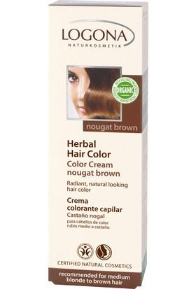 Logona Açık Kumral & Kahve Renkli Saçlar için Fındık Rengi Krem Boya