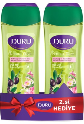 Duru Duş Jeli Naturel Olive 500+500ML KOFRE