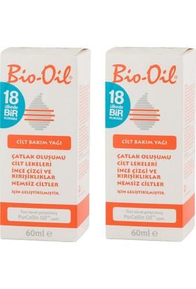 Bio-Oil Cilt Bakım Yağı 2X60Ml