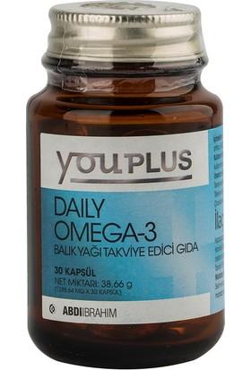 Youplus Daily Omega-3 Balık Yağı 30 Kapsül