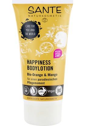 Sante Organik Portakal ve Mango Özlü Happiness Vücut Losyonu 150 ml.