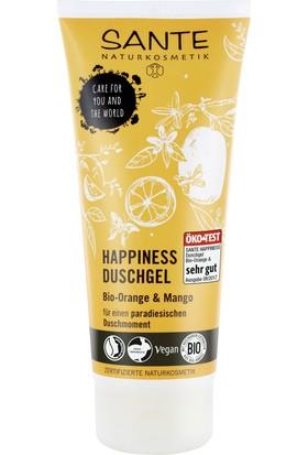 Sante Organik Portakal ve Mango Özlü Happiness Duş Jeli 200 ml.
