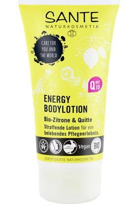 Sante Organik Limon ve Ayva Özlü Enerji Vücut Losyonu 150 ml.