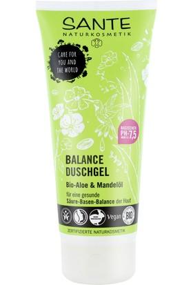 Sante Organik Aloe Vera ve Badem Yağlı Dengeleyici Duş Jeli 200 ml.