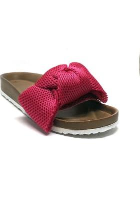 Shop And Shoes Kadın Terlik Fuşya 155-200