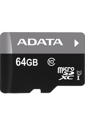 Adata Premier 64GB 50MB/s microSDHC/SDXC UHS-I Class10 Micro SD Kart AUSDX64GUICL10-R
