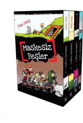 Maskesiz Beşler Serisi Set (4 Kitap) - Tina Zang