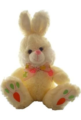 Happy Toys Papyonlu Tavşan Peluş Oyuncak