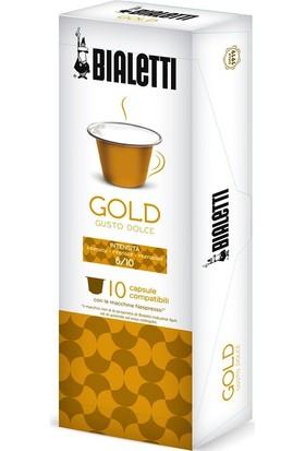 Bialetti Gold Nespresso Uyumlu Kapsül Kahve 10'lu Kutu