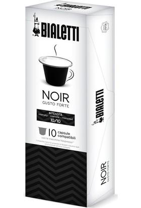 Bialetti Noir Nespresso Uyumlu Kapsül Kahve 10'lu Kutu