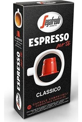 Segafredo Clasico Nespresso Uyumlu Kapsül Kahve 10'lu Kutu