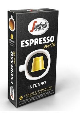 Segafredo İntenso Nespresso Uyumlu Kapsül Kahve 10'lu Kutu