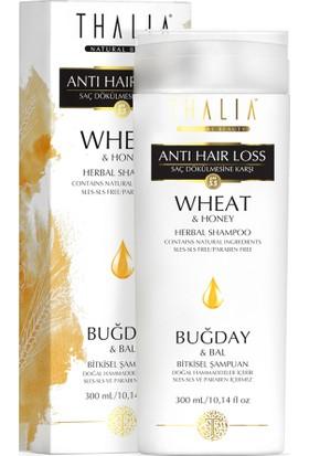 Thalia Buğday Ve Bal Özlü 300 Ml Saç Dökülmesine Karşı Etkili Bakım Şampuanı 300 Ml