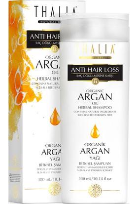Thalia Organik Argan Yağı Özlü Saç Dökülmesine Karşı Etkili Bakım Şampuanı 300 Ml