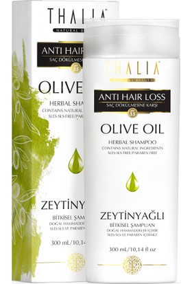 Thalia Zeytinyağı Özlü Saç Dökülmesine Karşı Etkili Bakım Şampuanı 300 Ml