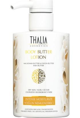 Thalia Organik Macadamıa Yağlı Body Butter Kuru Ve Yıpranmış Cilt Losyonu 300 Ml