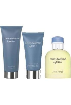 Dolce & Gabbana Light Blue Pour Homme Edt 125 ml + After Shave Balm 75 ml + Shower Gel 50 ml