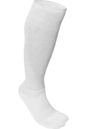 Usr Süper Futbol Tozluğu Çorabı Beyaz