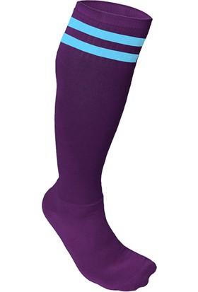 Usr Süper Futbol Tozluğu Çorabı Bordo Mavi