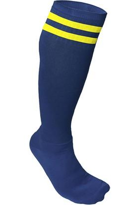 Usr Süper Futbol Tozluğu Çorabı Lacivert Sarı
