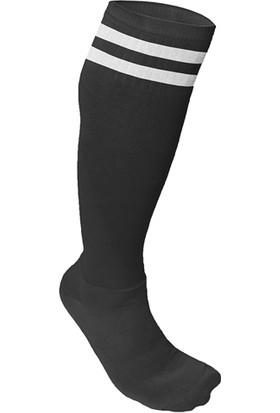 Usr Süper Futbol Tozluğu Çorabı Siyah Beyaz