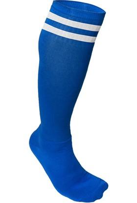 Usr Süper Futbol Tozluğu Çorabı Mavi Beyaz