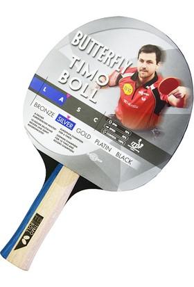 Butterfly 85016S Boll Silver ITTF Onaylı Masa Tenisi Raketi