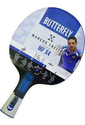 Butterfly 85083S Marcos Freitas MF X4 ITTF Onaylı Masa Tenisi Raketi