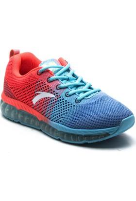 Anta /82615501 16Q1 Mavi Kadın Tekstil Ayakkabı