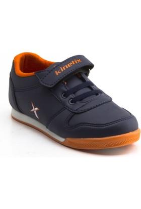 Kinetix Tarin Lacivert Çocuk Deri Spor Ayakkabı