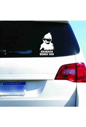 Arabada Bebek Var Stickerı