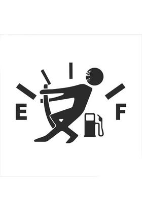 Yüksek Yakıt Tüketimi Stickerı