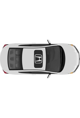 Honda Sunroof Stickerı
