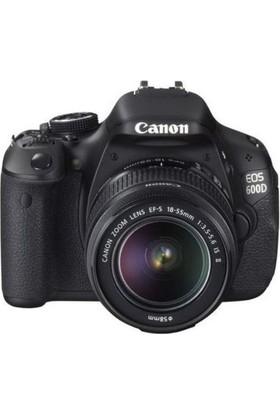 Canon EOS 600D 18-55 IS II Dijital Fotoğraf Makinesi