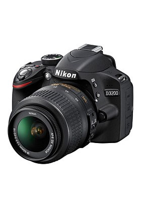 Nikon D3200 18-55mm KİT Fotoğraf Makinesi