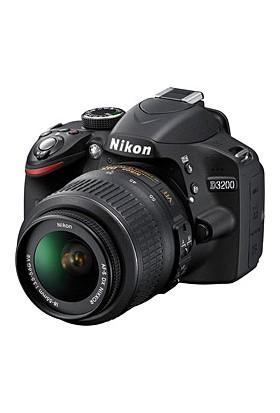 Nikon D3200 18-55mm KİT Fotoğraf Makinesi