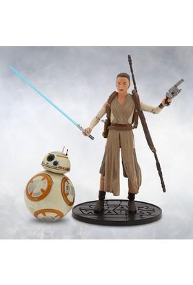 Disney Star Wars Elite Series Ep VII Rey And BB-8 Die-Cast Action Figure Set