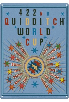 Half Moon Bay Harry Potter Quidditch World Cup Metal Duvar Levhası