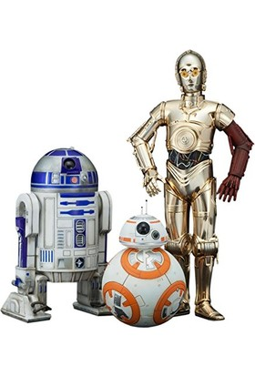 Kotobukiya Star Wars C-3PO & R2-D2 And Bb-8 Artfx+ Statue