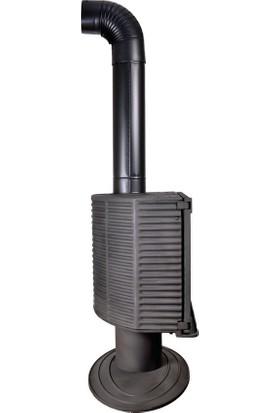 Sefer Döküm SDS 109 Şömine Plazma Yakıt Sobası