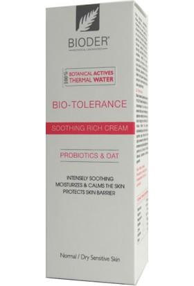 Bioder Bio-Tolerance Kuruya Dönük Hassas Ciltler İçin Nemlendirici Krem 30Ml