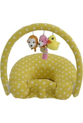 Bebek Oturma Destek Koltuğu Bebek Yastığı Destek Minderi Pamuk