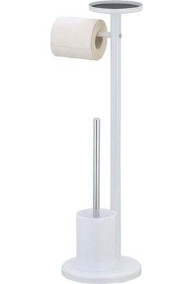 Tuvalet Fırçası & Tuvalet Kağıtlığı telefon tutuculu-BB1107