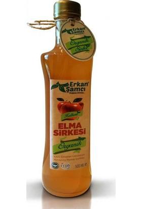 Erkan Şamcı Organik Elma Sirkesi 500 ml