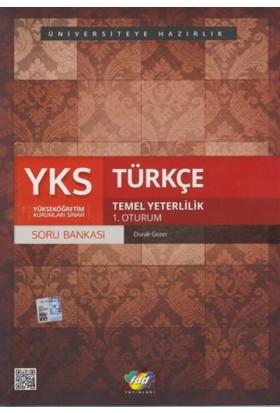 Fdd Yks Türkçe Soru Bankası Temel Yeterlilik 1. Oturum - Durak Gezer