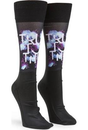 Volcom Ttt Kadın Snowboard Çorap Siyah